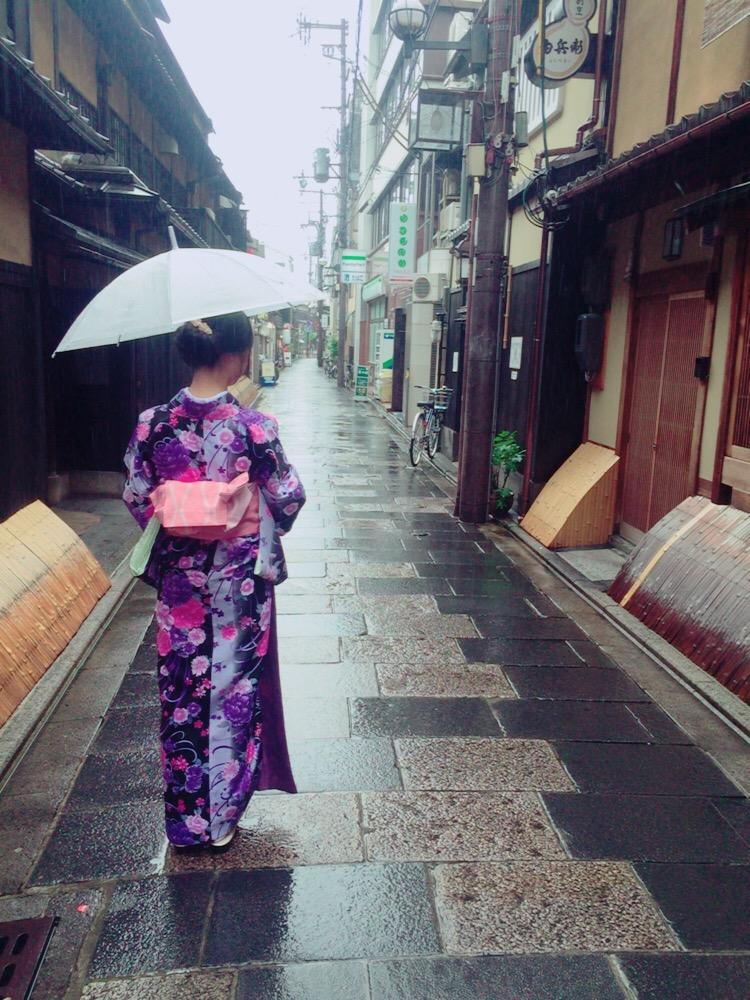 大阪からの高校生1クラス全員で着物レンタル♪2016年4月28日15