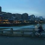 京都の夏の風物詩「鴨川納涼床」1