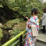 残りの春休みを着物レンタルで京都を満喫♪2016年4月4日10