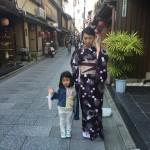 海外から京都で着物レンタル!グローバルな一日!2016年4月11日17