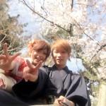 明後日から始業式!その前に着物レンタルで京都の桜を♪2016年4月5日16