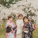 着物レンタルで桜満開の京都を散策!2016年4月2日45