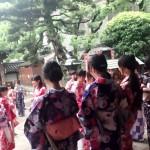大阪からの高校生1クラス全員で着物レンタル♪2016年4月28日2