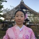 海外から京都で着物レンタル!グローバルな一日!2016年4月11日22