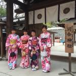 明後日から始業式!その前に着物レンタルで京都の桜を♪2016年4月5日15