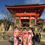 明後日から始業式!その前に着物レンタルで京都の桜を♪2016年4月5日13
