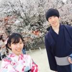 着物レンタルで桜満開の京都を散策!2016年4月2日9