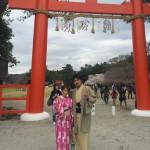 着物レンタルで桜満開の京都を散策!2016年4月2日37