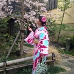 着物レンタルで桜満開の京都を散策!2016年4月2日41
