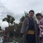京都の桜満開!着物レンタルでお花見♪2016年4月3日19