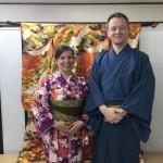 フランスから着物レンタルで京都の都をどりを♪2016年4月12日3