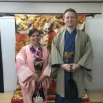 フランスから着物レンタルで京都の都をどりを♪2016年4月12日4