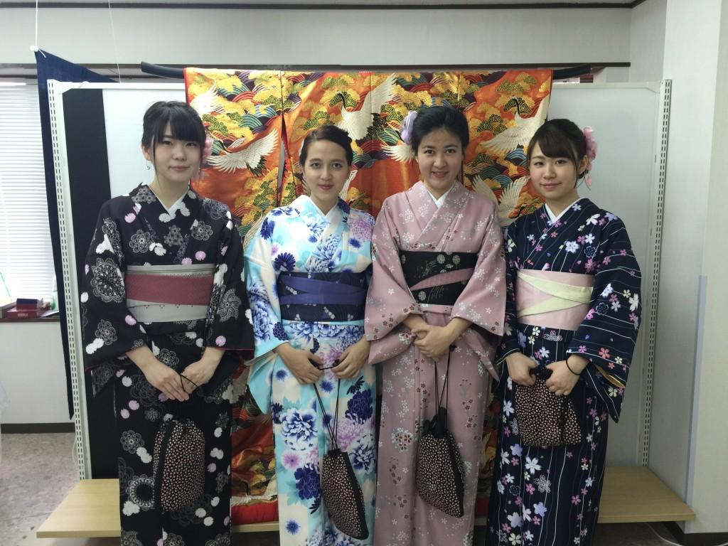 京都の着物レンタルで週末の団体女子旅行♪2016年4月23日4