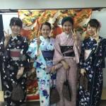 京都の着物レンタルで週末の団体女子旅行♪2016年4月23日5