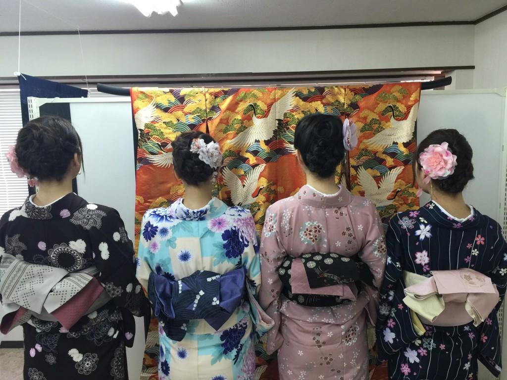京都の着物レンタルで週末の団体女子旅行♪2016年4月23日6