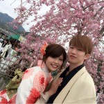 明後日から始業式!その前に着物レンタルで京都の桜を♪2016年4月5日18