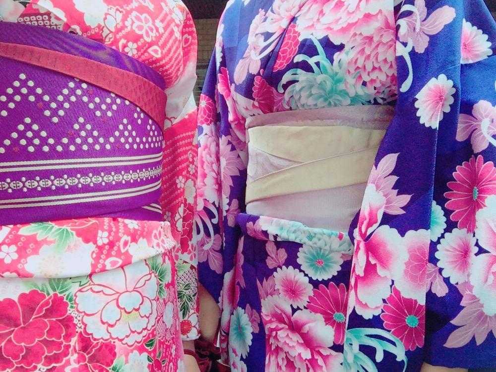 大阪からの高校生1クラス全員で着物レンタル♪2016年4月28日12