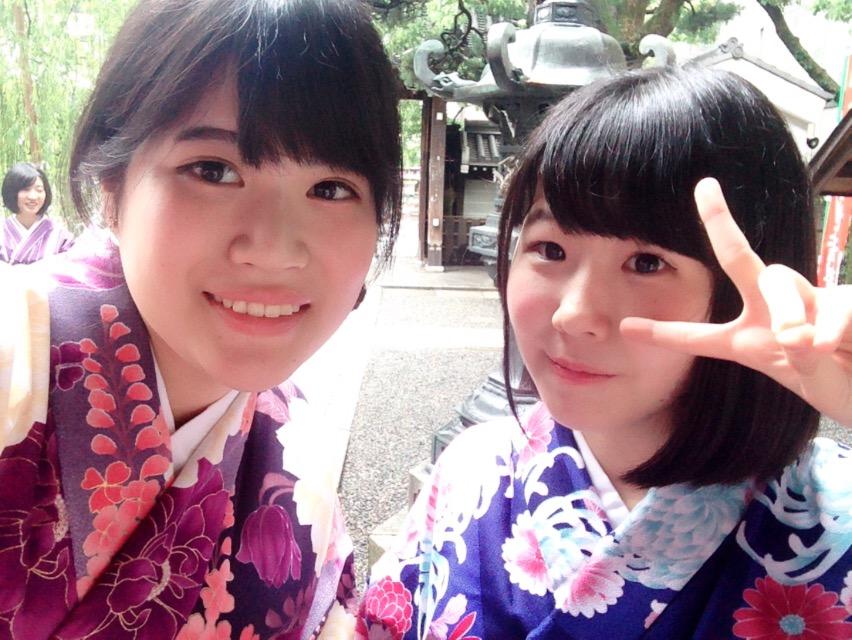 大阪からの高校生1クラス全員で着物レンタル♪2016年4月28日6