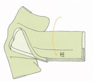 着物の畳み方2