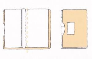 着物の畳み方 留袖・振袖(夜着畳み)3