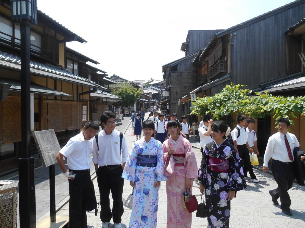 今日も茨城県から修学旅行生!2016年5月23日6
