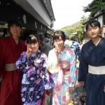 今日も茨城県から修学旅行生!2016年5月23日9