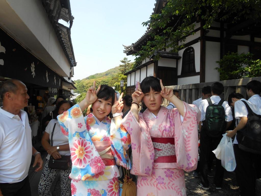 今日も茨城県から修学旅行生!2016年5月23日11