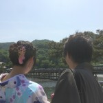 今日も京都の人気観光地「嵐山」を着物レンタルで!2016年5月2日3