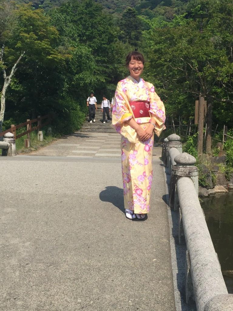 修学旅行生!着物レンタルで京都観光♪2016年5月22日9