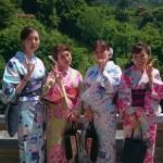 同級生!着物レンタルで京都 清水寺へ2016年5月17日11