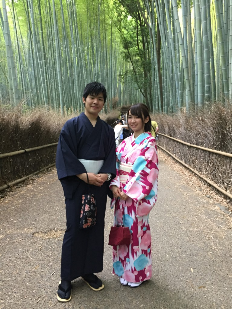 週末は京都で着物レンタル!2016年5月29日17