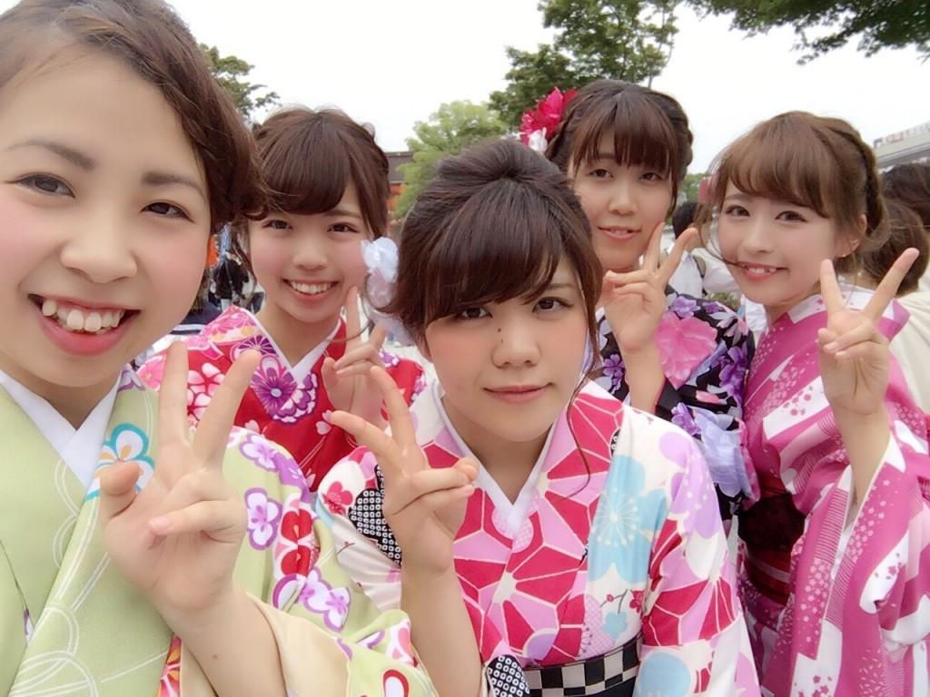 週末は京都で着物レンタル!2016年5月29日18