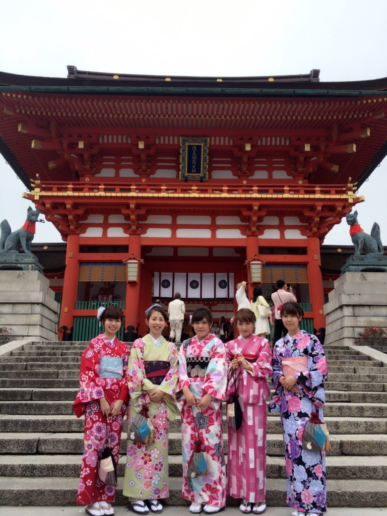 週末は京都で着物レンタル!2016年5月29日19