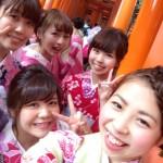 週末は京都で着物レンタル!2016年5月29日20