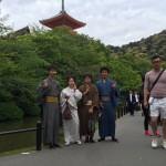 リピートのお客様着物レンタルで嵐山へ!2016年5月3日9