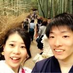 先月、浅草店で着物レンタル!今日は京都店で嵐山へ!2016年5月1日7