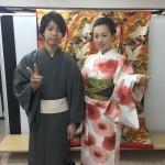 今日は全て大阪からのお客様が着物レンタル!2016年5月5日2