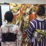 今日は全て大阪からのお客様が着物レンタル!2016年5月5日7