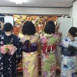 今日は全て大阪からのお客様が着物レンタル!2016年5月5日10