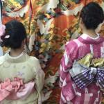 今日は全て大阪からのお客様が着物レンタル!2016年5月5日13