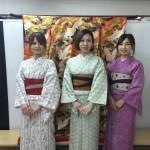 今日は全て大阪からのお客様が着物レンタル!2016年5月5日14