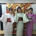 今日は全て大阪からのお客様が着物レンタル!2016年5月5日15