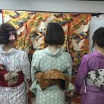 今日は全て大阪からのお客様が着物レンタル!2016年5月5日16