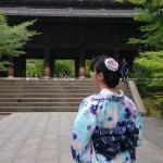 着物レンタルで京都南禅寺 水路閣へ!2016年5月7日8