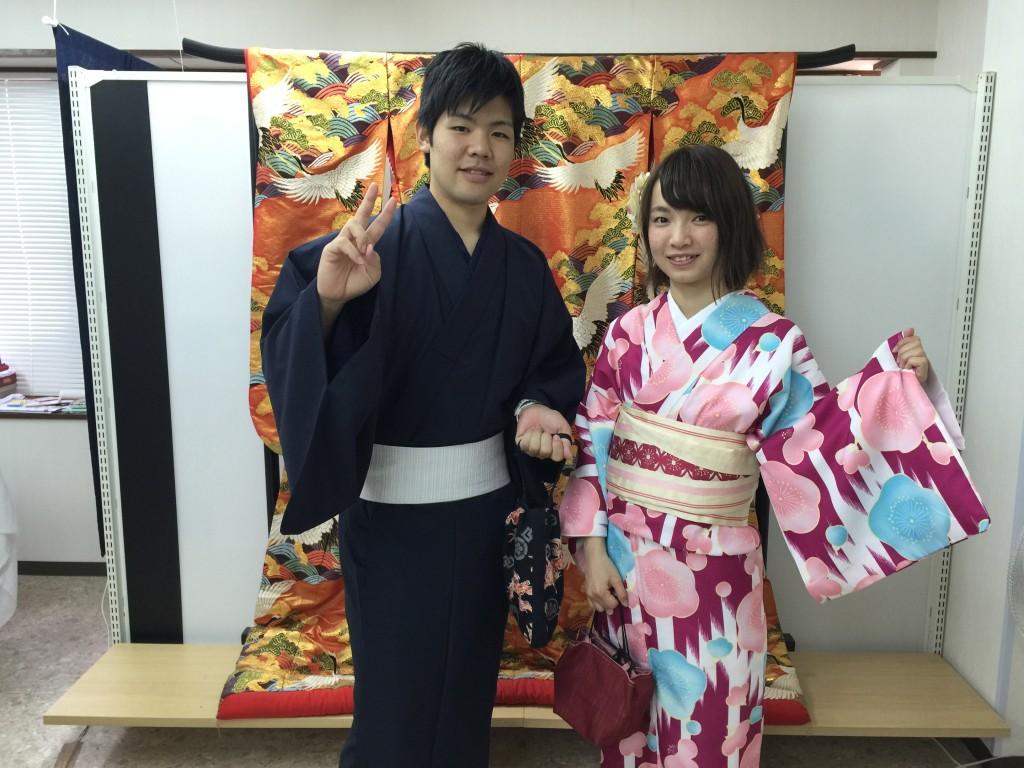 週末は京都で着物レンタル!2016年5月29日2