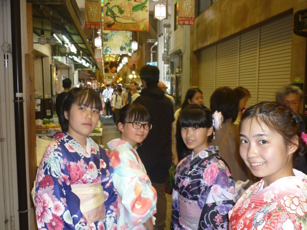 修学旅行生!着物レンタルで京都観光♪2016年5月22日11