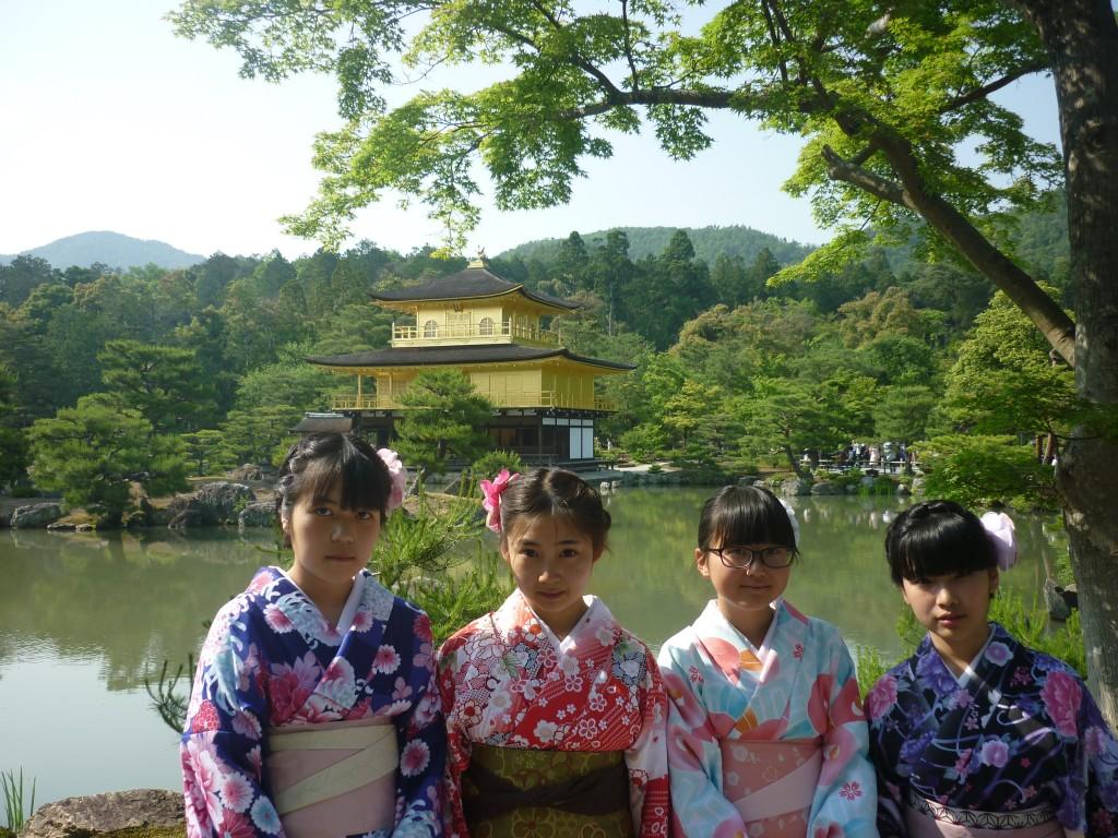 修学旅行生!着物レンタルで京都観光♪2016年5月22日12