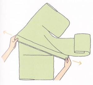 着物の畳み方5