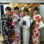 京都レンタルきもの古都!本日おかげさまで一周年!2016年6月19日2