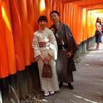 カップルで着物レンタル!京都を満喫!2016年6月1日12